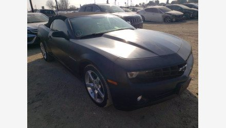 2012 Chevrolet Camaro LT Convertible for sale 101461657
