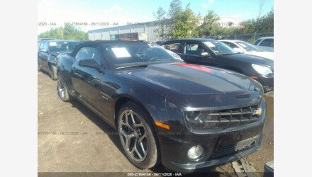 2012 Chevrolet Camaro SS Convertible for sale 101464975