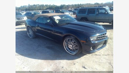 2012 Chevrolet Camaro SS Convertible for sale 101464979