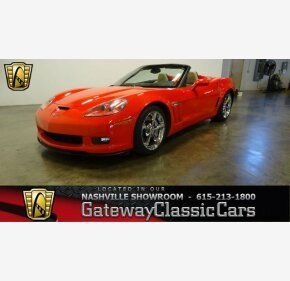2012 Chevrolet Corvette Grand Sport Convertible for sale 101069210