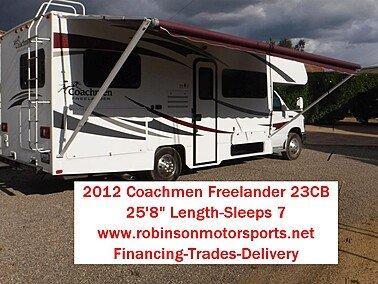 2012 Coachmen Freelander 23CB for sale 300186140