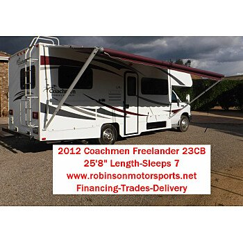 2012 Coachmen Freelander 23CB for sale 300186140