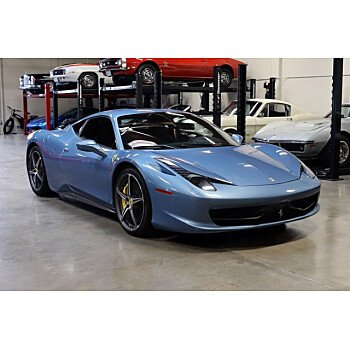 2012 Ferrari 458 Italia Coupe for sale 101418006
