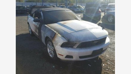 2012 Ford Mustang Convertible for sale 101066121