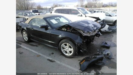2012 Ford Mustang Convertible for sale 101105617