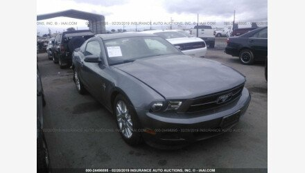 2012 Ford Mustang Coupe for sale 101110637