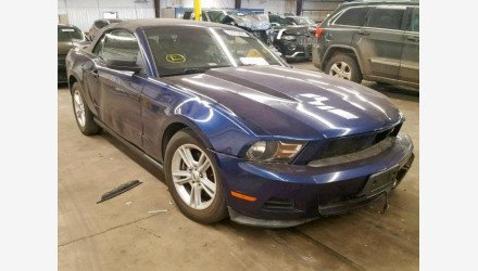 2012 Ford Mustang Convertible for sale 101126325