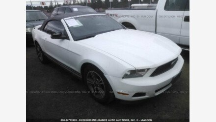 2012 Ford Mustang Convertible for sale 101127076