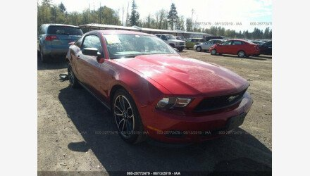 2012 Ford Mustang Coupe for sale 101191651