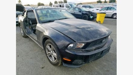 2012 Ford Mustang Convertible for sale 101229674