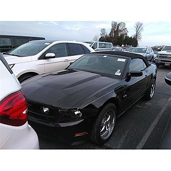 2012 Ford Mustang GT Convertible for sale 101243369
