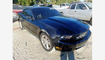 2012 Ford Mustang Convertible for sale 101270442