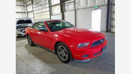 2012 Ford Mustang Convertible for sale 101273210