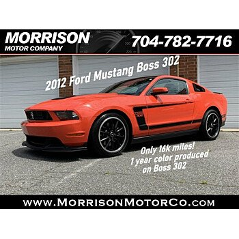 2012 Ford Mustang Boss 302 Coupe for sale 101334475