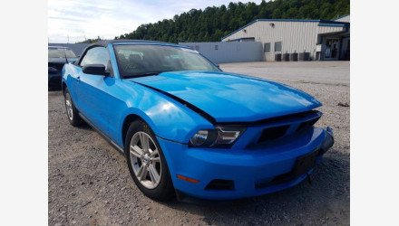 2012 Ford Mustang Convertible for sale 101344141
