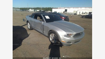 2012 Ford Mustang Convertible for sale 101349491
