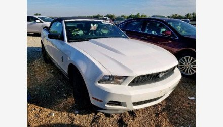 2012 Ford Mustang Convertible for sale 101361334