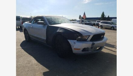 2012 Ford Mustang Convertible for sale 101380440