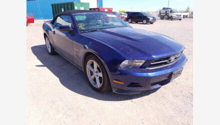 2012 Ford Mustang Convertible for sale 101396405