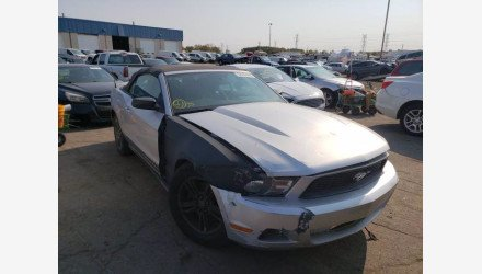 2012 Ford Mustang Convertible for sale 101397612