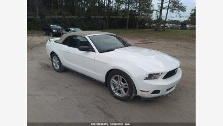 2012 Ford Mustang Convertible for sale 101411362