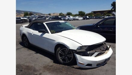 2012 Ford Mustang Convertible for sale 101413020