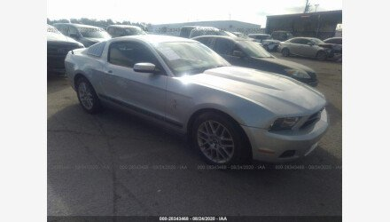 2012 Ford Mustang Coupe for sale 101415764