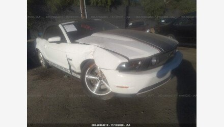 2012 Ford Mustang GT Convertible for sale 101443567