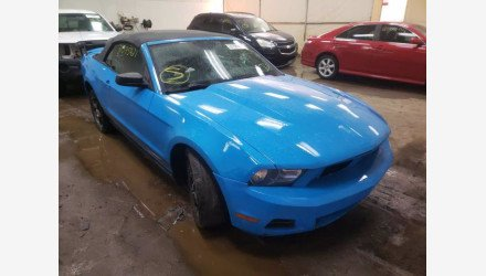 2012 Ford Mustang Convertible for sale 101461673