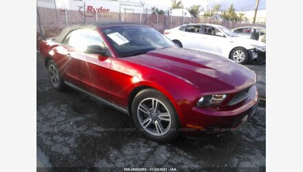 2012 Ford Mustang Convertible for sale 101464530