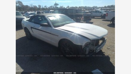 2012 Ford Mustang Convertible for sale 101464555