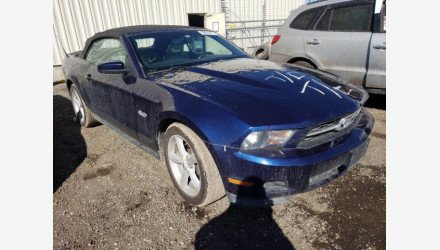 2012 Ford Mustang Convertible for sale 101487499