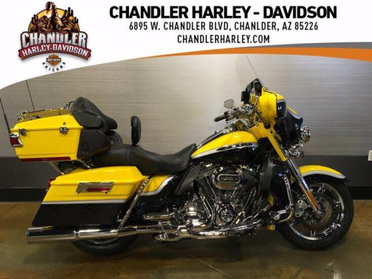 2012 Harley-Davidson CVO for sale 201149609