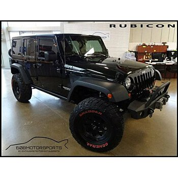 2012 Jeep Wrangler 4WD Unlimited Rubicon for sale 101080328