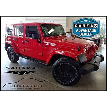 2012 Jeep Wrangler 4WD Unlimited Sahara for sale 101093099
