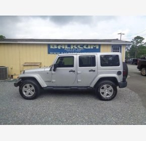 2012 Jeep Wrangler 4WD Unlimited Sahara for sale 101062979