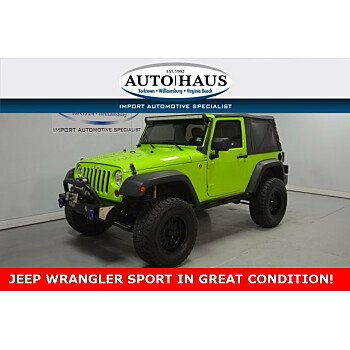 2012 Jeep Wrangler 4WD Sport for sale 101193251