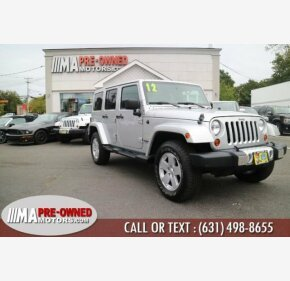 2012 Jeep Wrangler 4WD Unlimited Sahara for sale 101220496