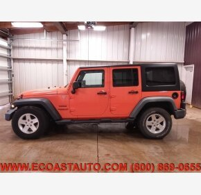 2012 Jeep Wrangler 4WD Unlimited Sport for sale 101222783