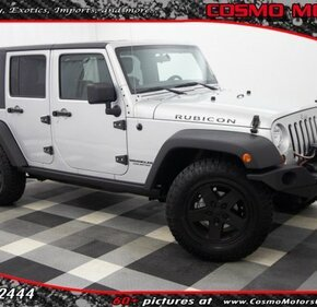 2012 Jeep Wrangler 4WD Unlimited Rubicon for sale 101233669