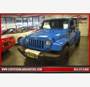 2012 Jeep Wrangler 4WD Unlimited Sahara for sale 101292189