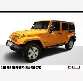 2012 Jeep Wrangler 4WD Unlimited Sahara for sale 101295361