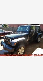 2012 Jeep Wrangler 4WD Sport for sale 101326227