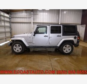 2012 Jeep Wrangler 4WD Unlimited Sahara for sale 101326411