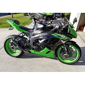 2012 Kawasaki Ninja ZX-6R for sale 200569891