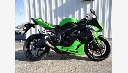 2012 Kawasaki Ninja ZX-6R for sale 200703550