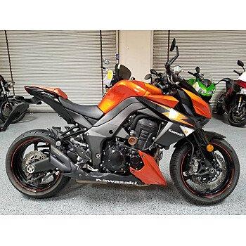 2012 Kawasaki Z1000 for sale 200707164