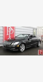 2012 Mercedes-Benz E550 Cabriolet for sale 101240771