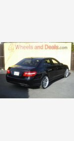 2012 Mercedes-Benz E550 4MATIC Sedan for sale 101262721