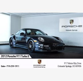 2012 Porsche 911 Turbo S for sale 101394818